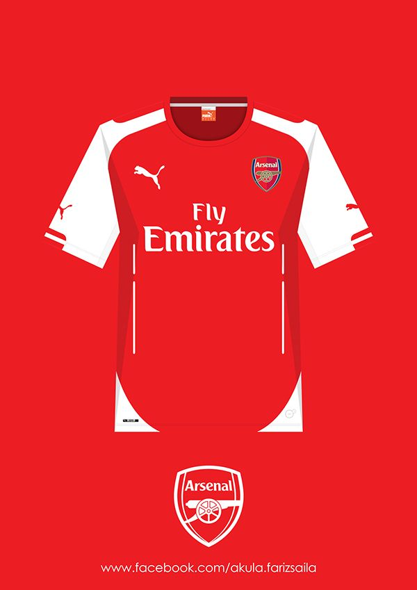560d3d17076 Arsenal 2005-2015 Kit Collection by Fariz Saila