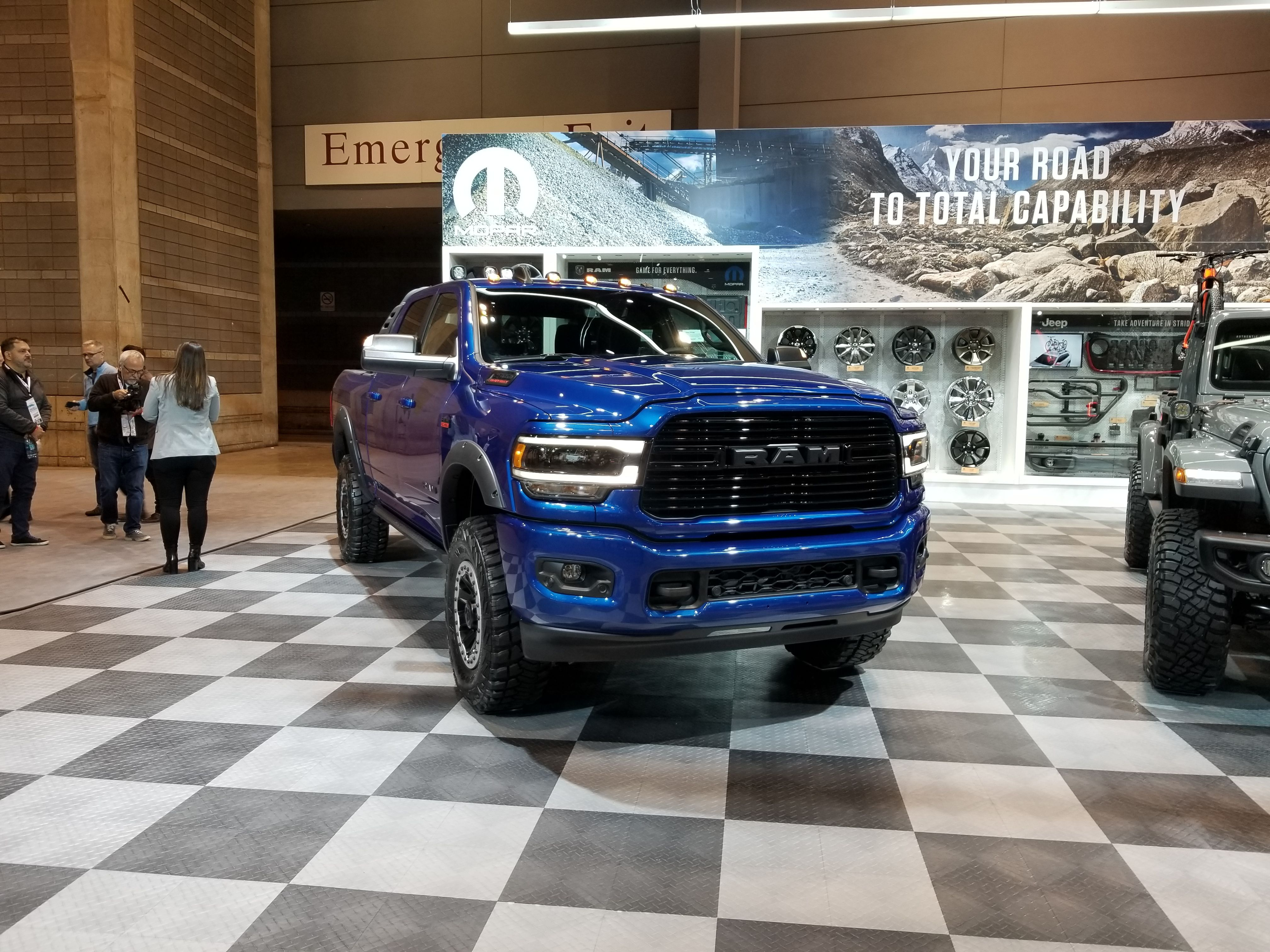 The Moparmodified 2019 Ram 2500 Heavy Duty Has Everything