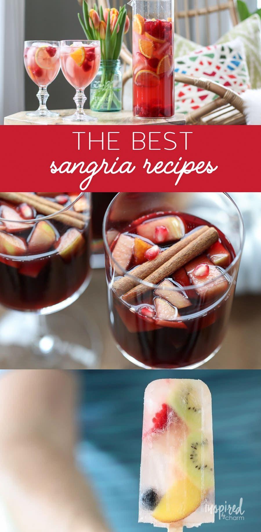 The Best Sangria Recipes Sangria Recipe Cocktail Thebestsangria Cocktails Sangriarecipe In 2020 Best Sangria Recipe Sangria Recipes Delicious Drink Recipes