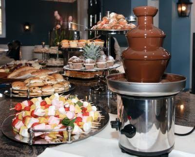 sweet 16 birthday party menu ideas pinterest chocolate fountains