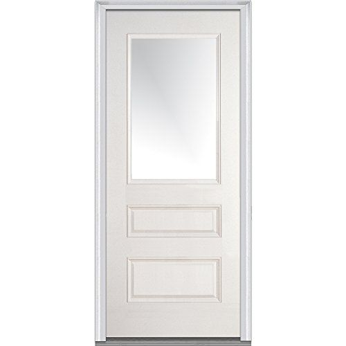 National Door Company Z000580r Smooth Fiberglass Prehung Https Www Amazon Com Dp B00zfrd7oo Ref Cm Sw R Pi Dp X Fiberglass Door Exterior Doors Front Door