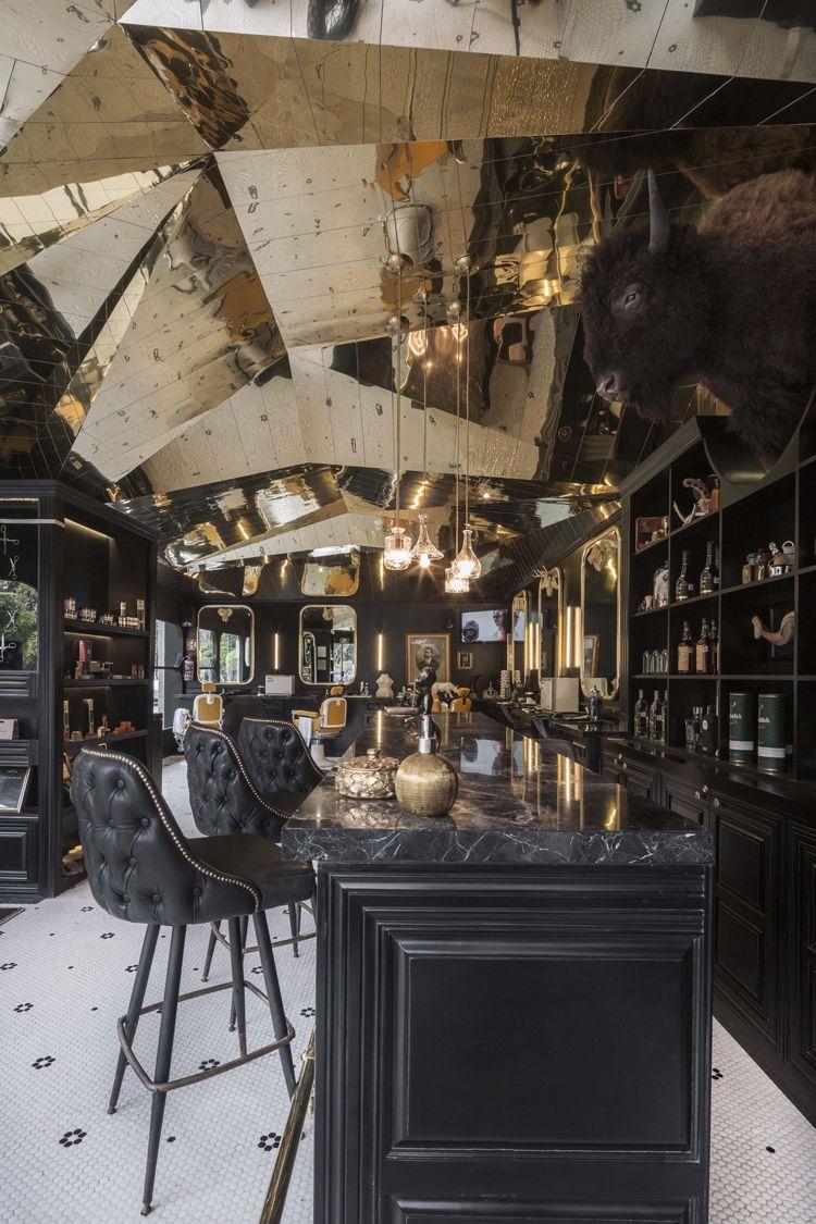 Barberia Royal by ROW Studio, Mexico City — urdesignmag