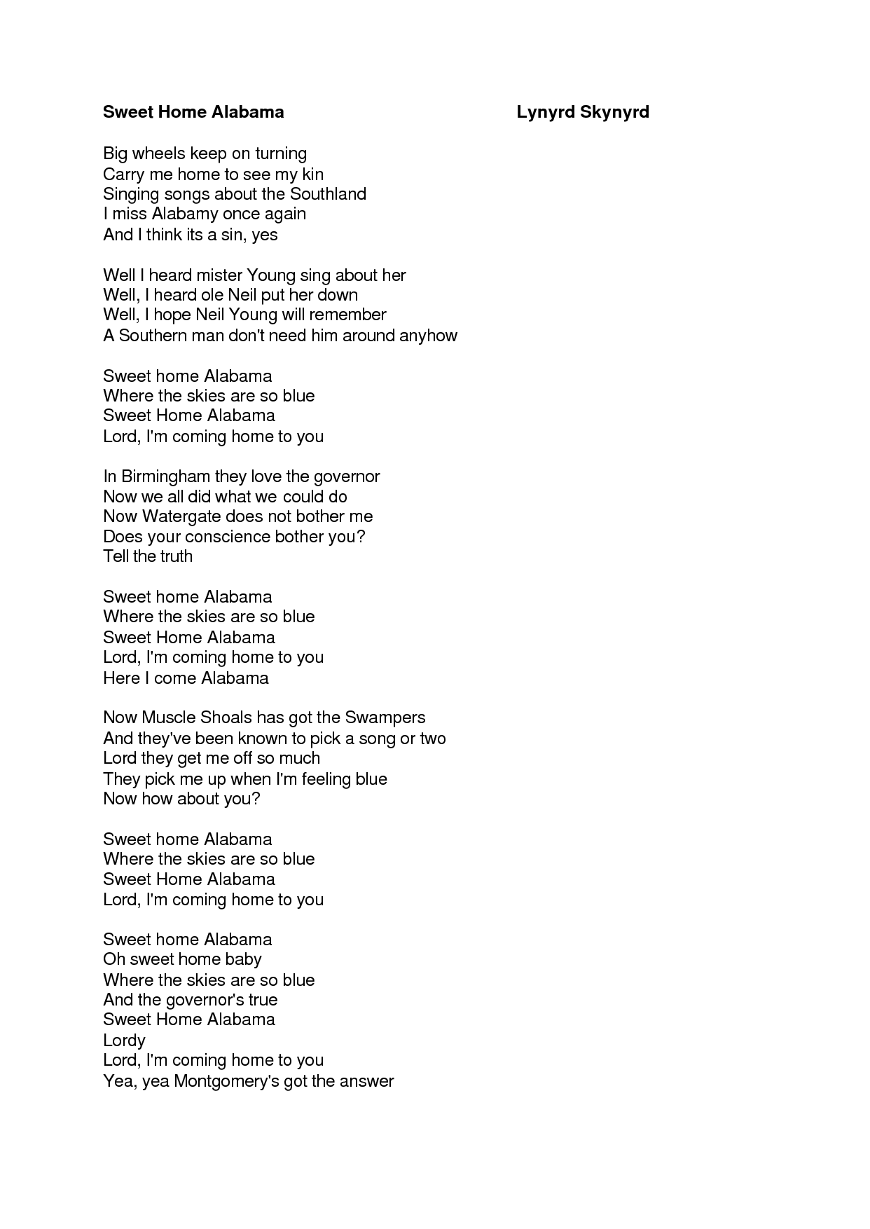 Deutsch translation of small town usa by justin moore. Pin By Mel Mccoy On Sweet Home Alabama Roll Tide Sweet Home Alabama Lyrics Sweet Home Alabama Sweet Home