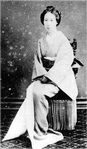 新村信(徳川慶喜の側室)   古い写真, 徳川慶喜, 写真