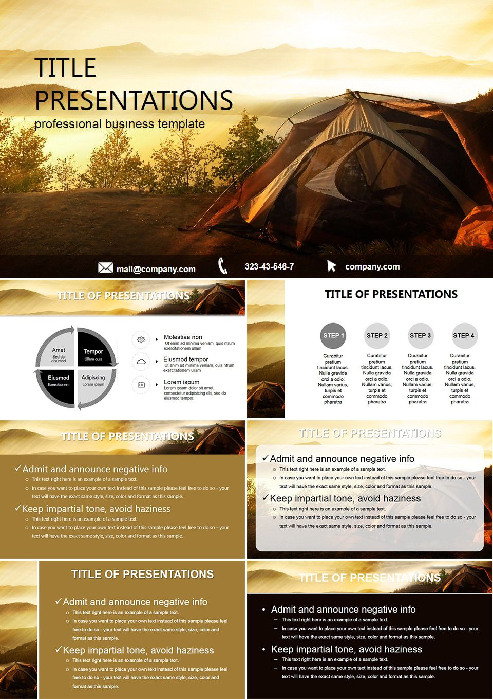 Nature Hikes Free Powerpoint Templates Free Keynote Template