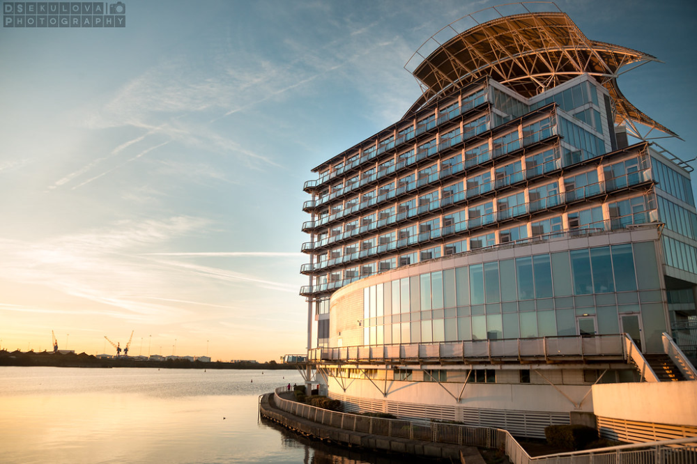 Sunrise At The St David S Hotel Cardiff With Images Cardiff