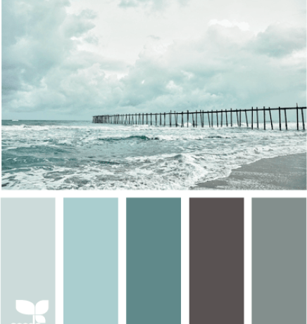 Considering This Color Scheme For My Bathroom I Am Doing A Beach Theme It Palettes From The S