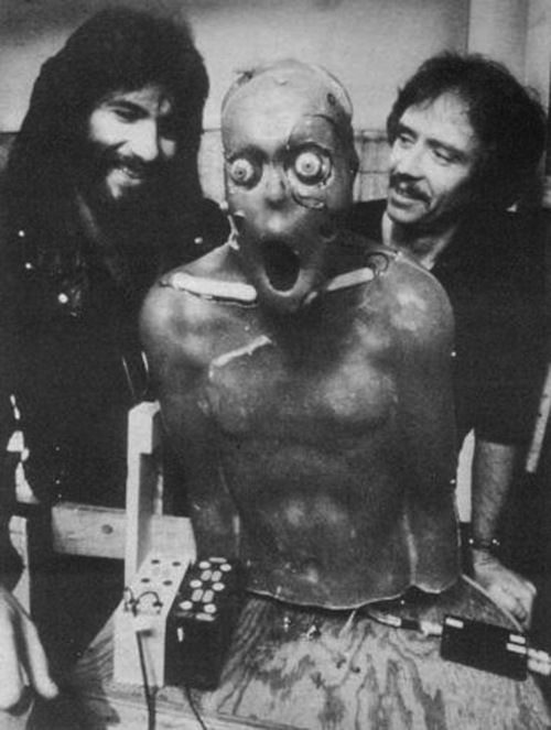 Image result for behind the scenes 1982 the thing