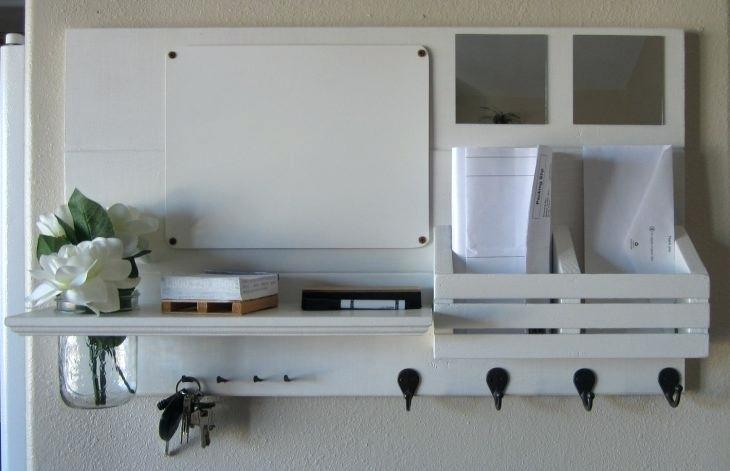 Entryway Shelf With Hooks White White Entryway Shelf With Hooks And Letter Storage Enchanting White Shelf Decor Entryway Wall Shelf Entryway Mirror With Hooks