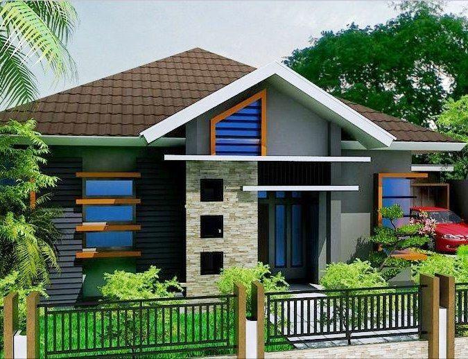58+ desain rumah minimalis 1 lantai dengan 3 kamar tidur ...