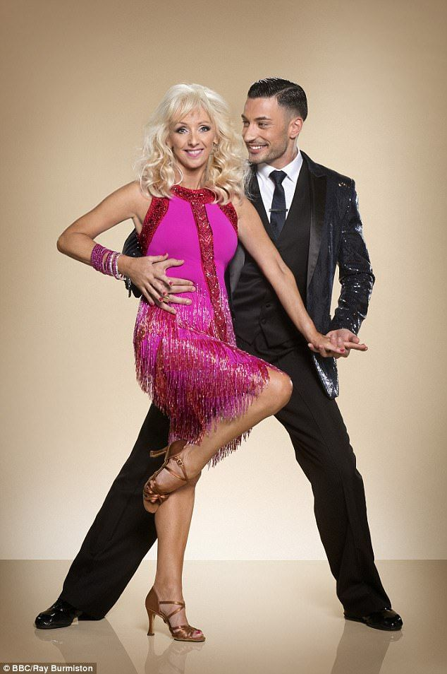 Debbie Mcgee 58 Cuddles Up To Her Italian Hunk Dance Partner 27 Strictly Come Dancing 2017 Stricly Come Dancing Strictly Dancers