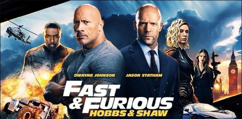 Fast Furious Present Hobbs And Shaw Hd Fast And Furious Movie Fast And Furious Dwayne Johnson
