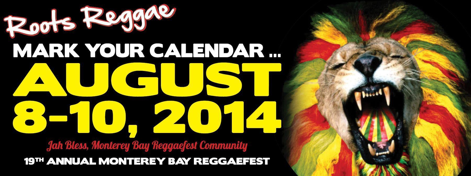 Monterey Bay Reggae Festival-August 2014