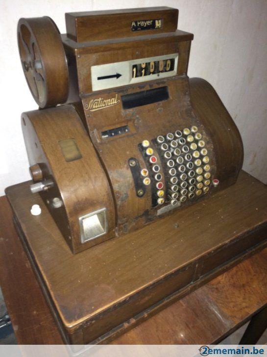ancienne caisse enregistreuse national antique cash register pinterest. Black Bedroom Furniture Sets. Home Design Ideas