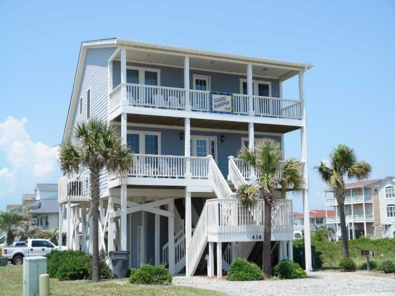 Pin By Cammy Pittman On Favorite Places Spaces House Rental Holden Beach House Goals