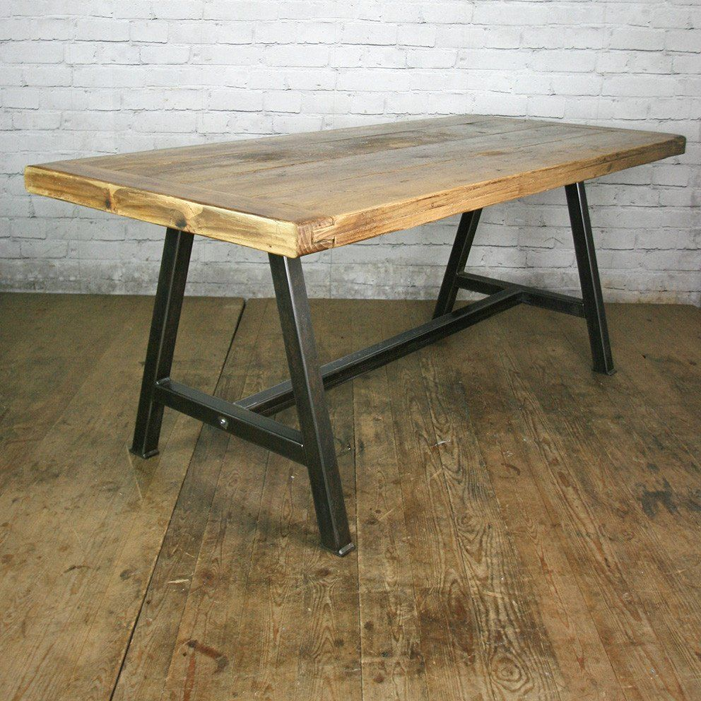 The Steel A Frame Dining Table 1 In Stock Ready For Delivery In