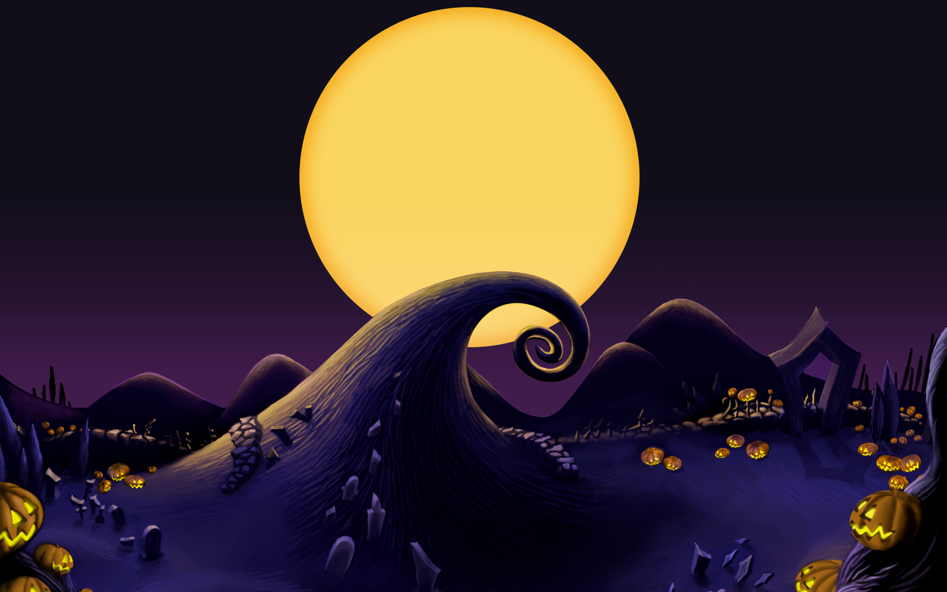 Nightmare Before Christmas Hd Wallpaper.Pin On Nbx Mas