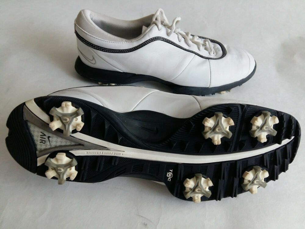 Golf Shoes NIKE AIR Womens Size US 8 White Leather