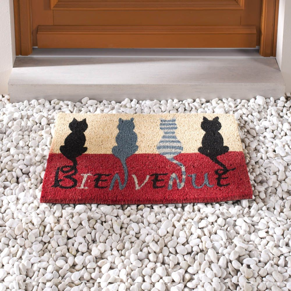 Door mats are one of our home decorative objects. First of all ...