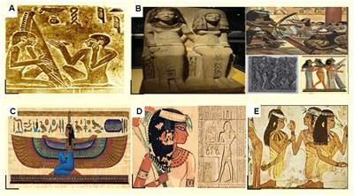 egyptian art influence today