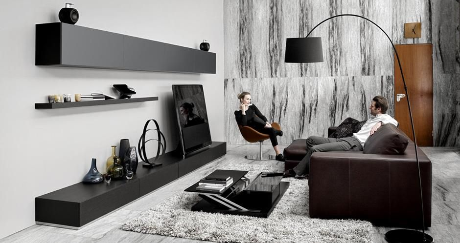 Modern living room furniture from BoConcept - Volani ...