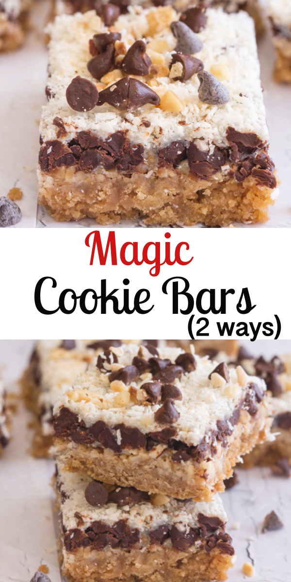 Magic Cookie Bars Sweetened Condensed Milk Recipes Cookies Recipes Chocolate Chip Crumb Recipe