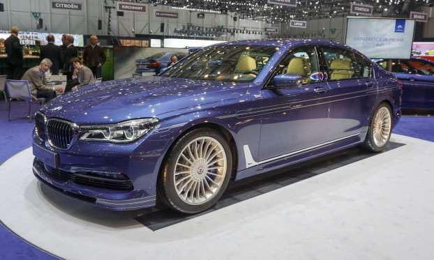 Based On The Latest Bmw 7 Series 2017 Alpina B7 Bi Turbo At Geneva Show Is Third Al Perry Stern Automotive Content Experience