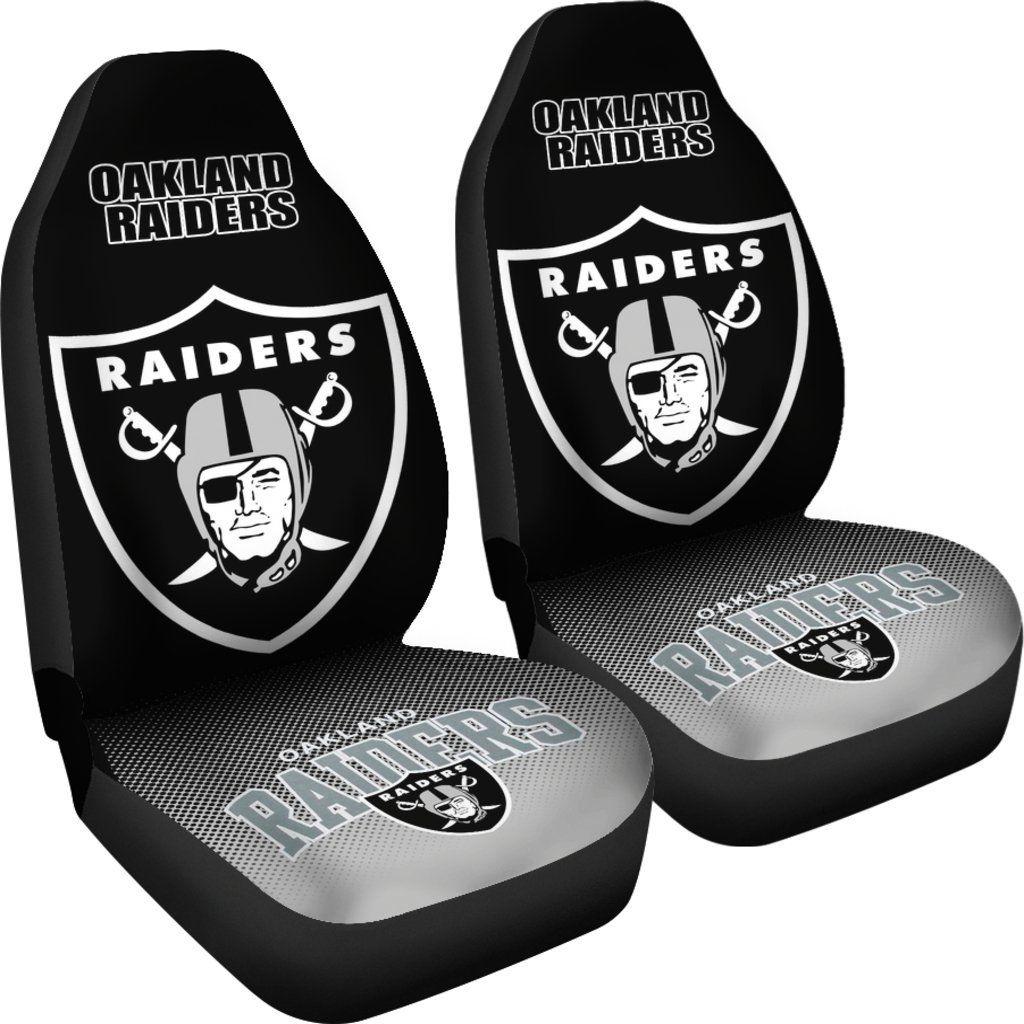 New Fashion Fantastic Oakland Raiders Car Seat Covers
