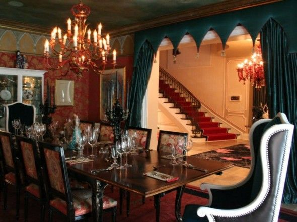 Gothic Style For Dining Room Design