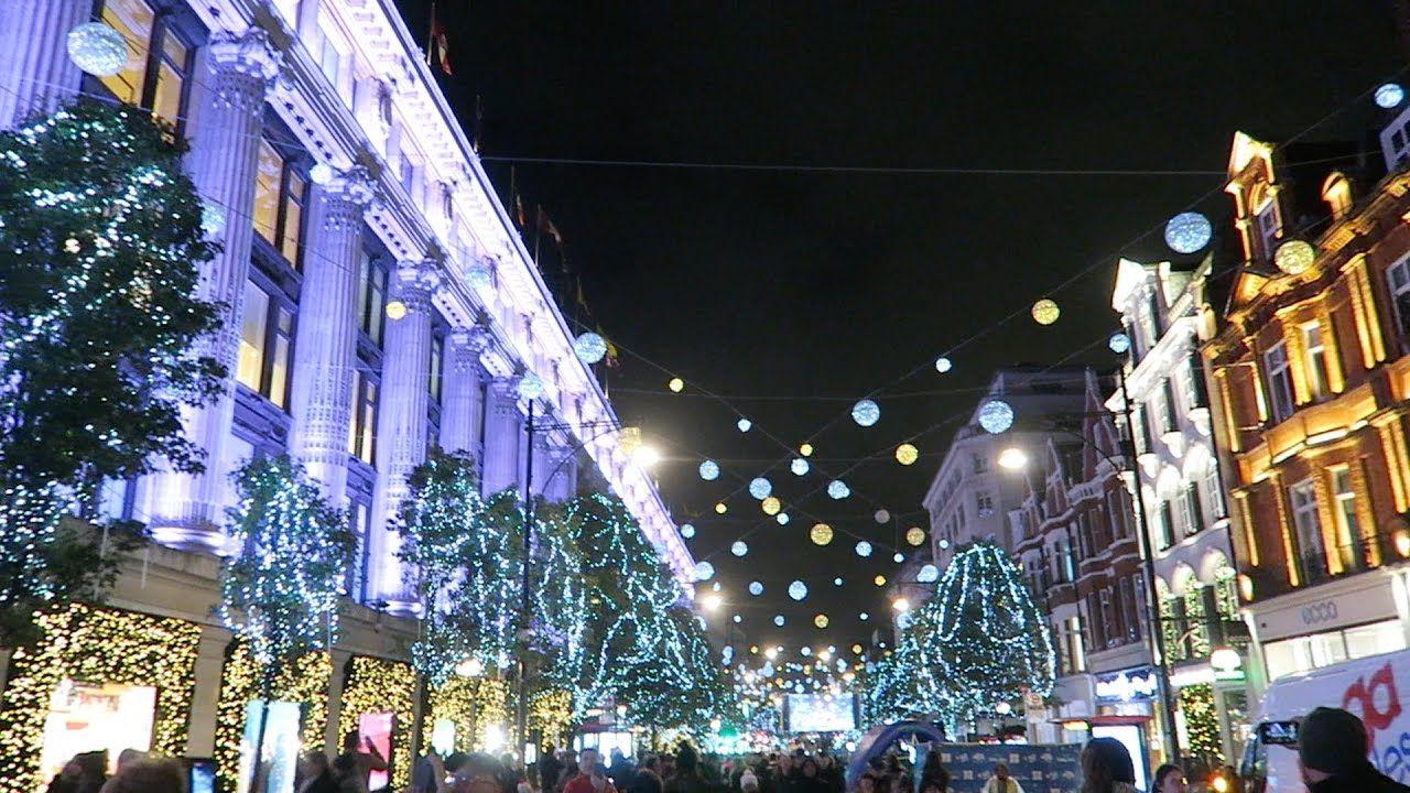 christmas lights london 2019 # 49