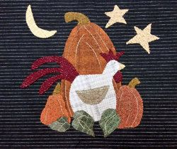 Harvest Mystery Quilt - Week 4