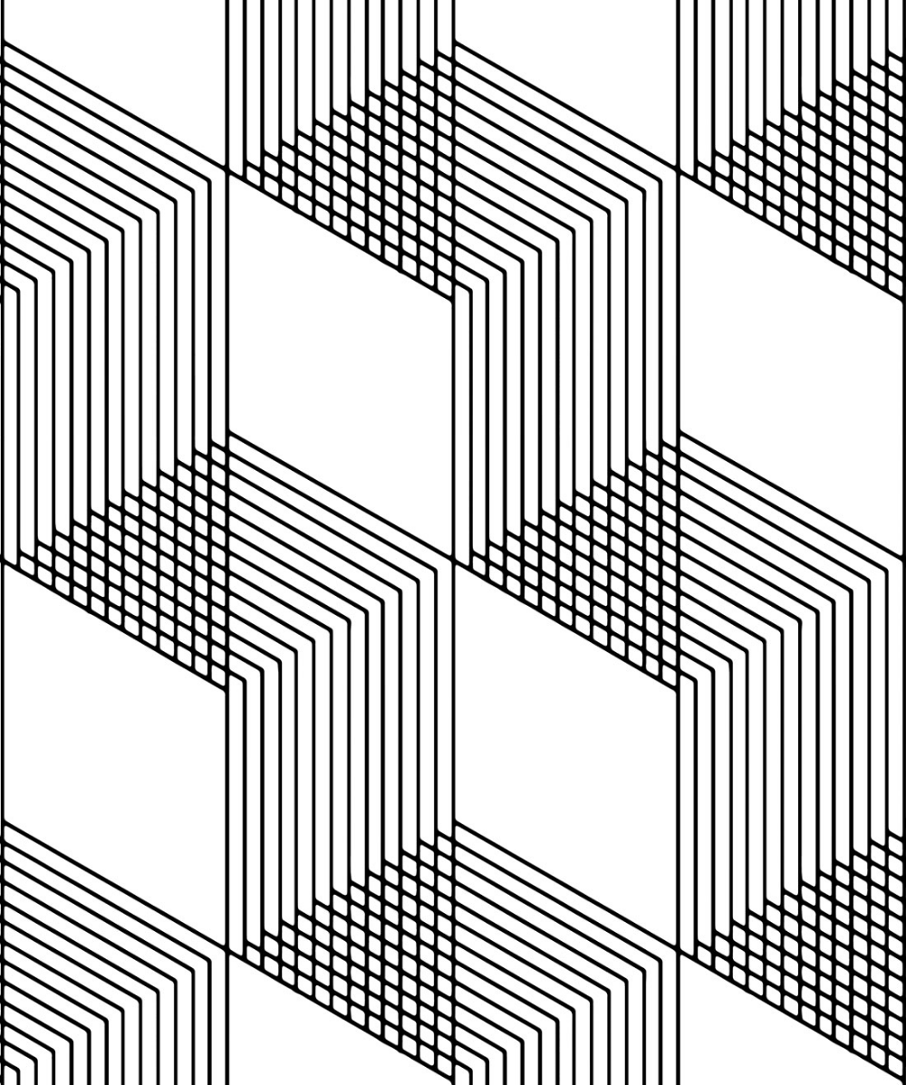 Origami Wallpaper • Geometric Black & White in 2020