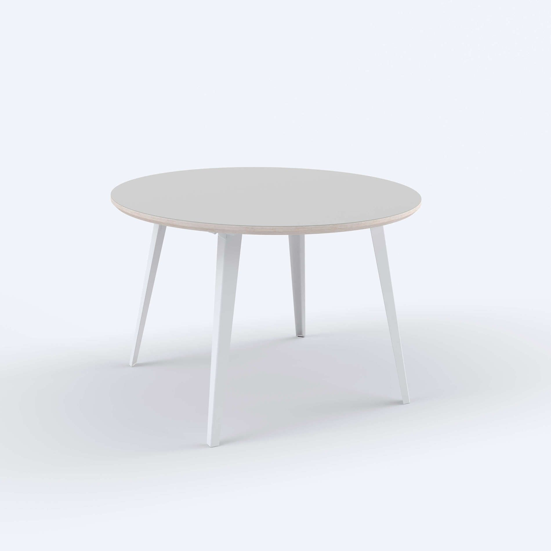 The Table Floyd Floyd 46 Round In Fog Or Blush With Images