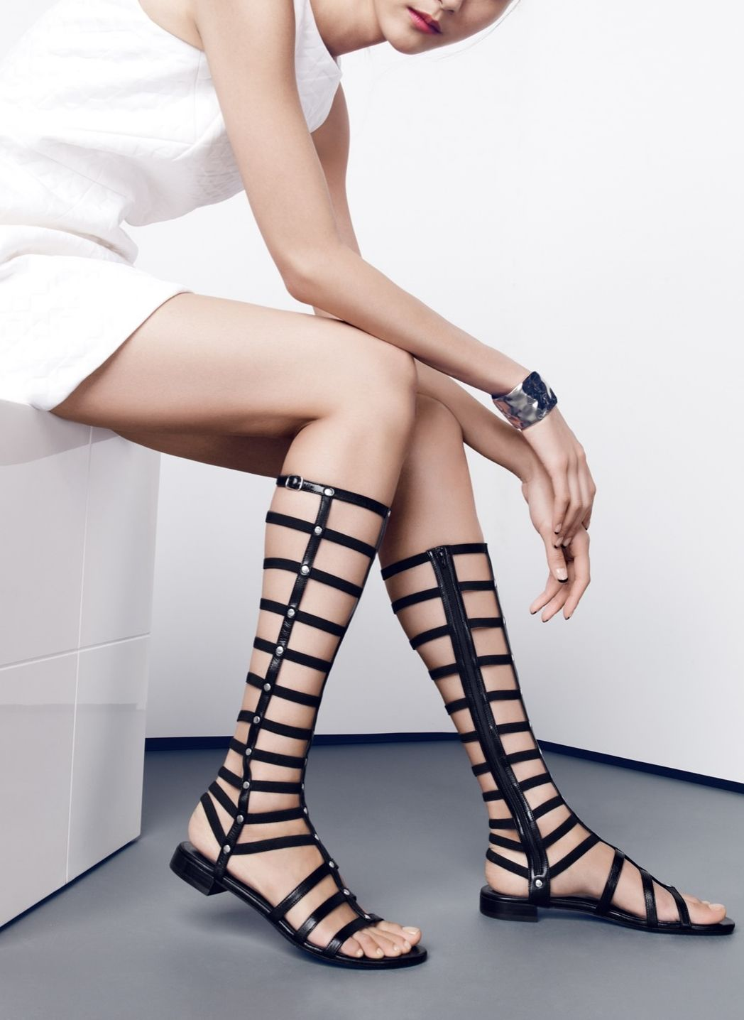 7a8e9c4cadae These Stuart Weitzman gladiator sandals are incredibly chic ...