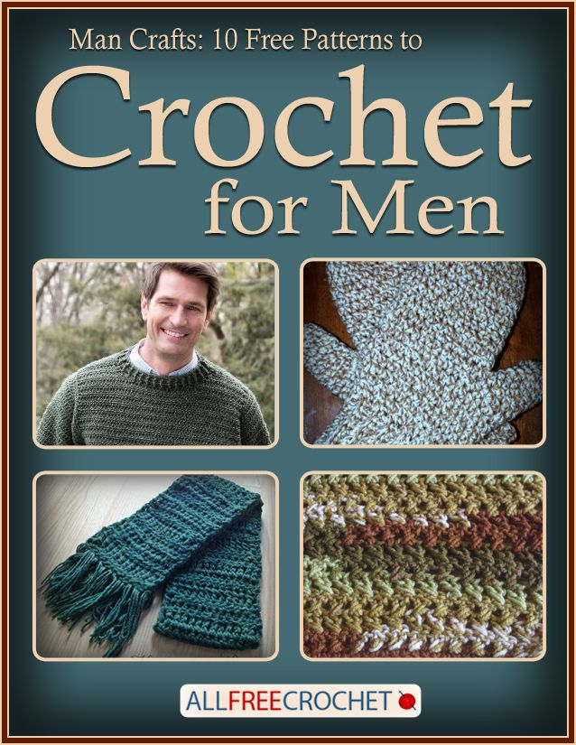 Man Crafts: 10 Free Patterns to Crochet for Men | Häkelideen und Häkeln