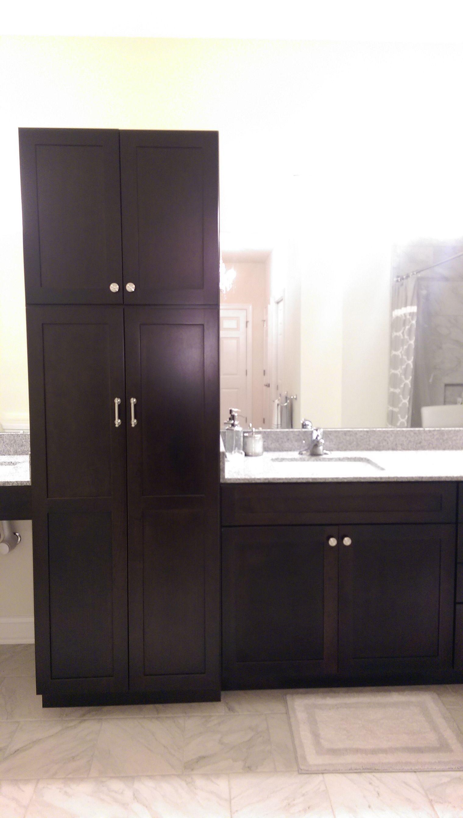 Kraftmaid Bathroom Linen Mcshane Job Bathroom Vanity