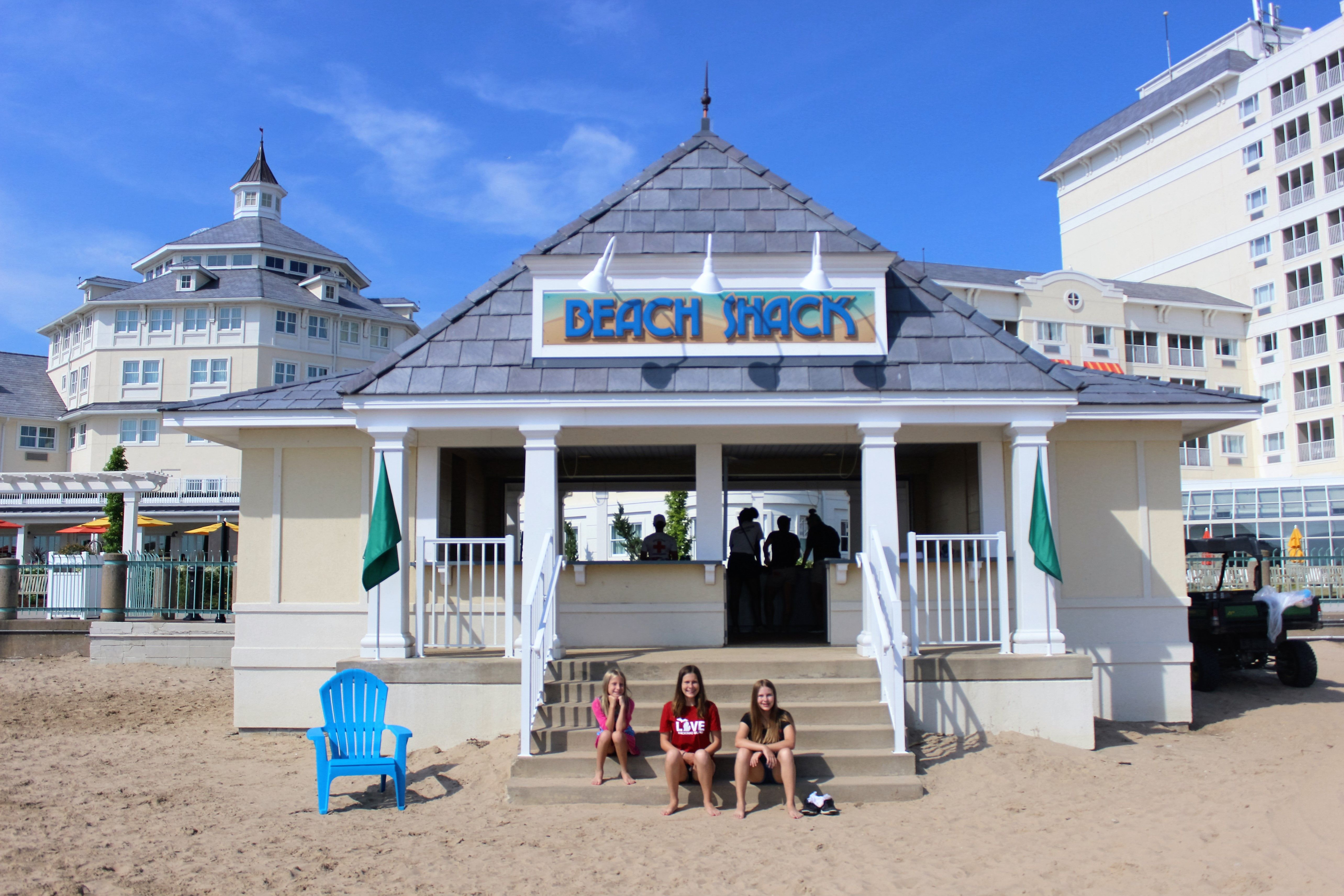 Beach Shack Hotel Breakers At Cedar Point Sandusky Ohio