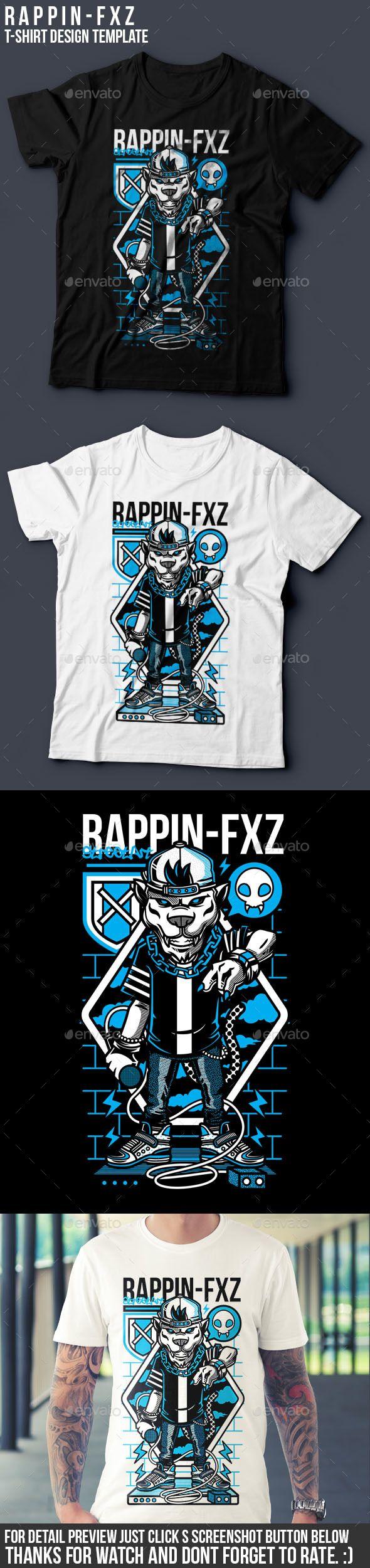 Shirt design resolution - Rappin Fxz T Shirt Design Rapper Rapmusic Hiphop Jaguar