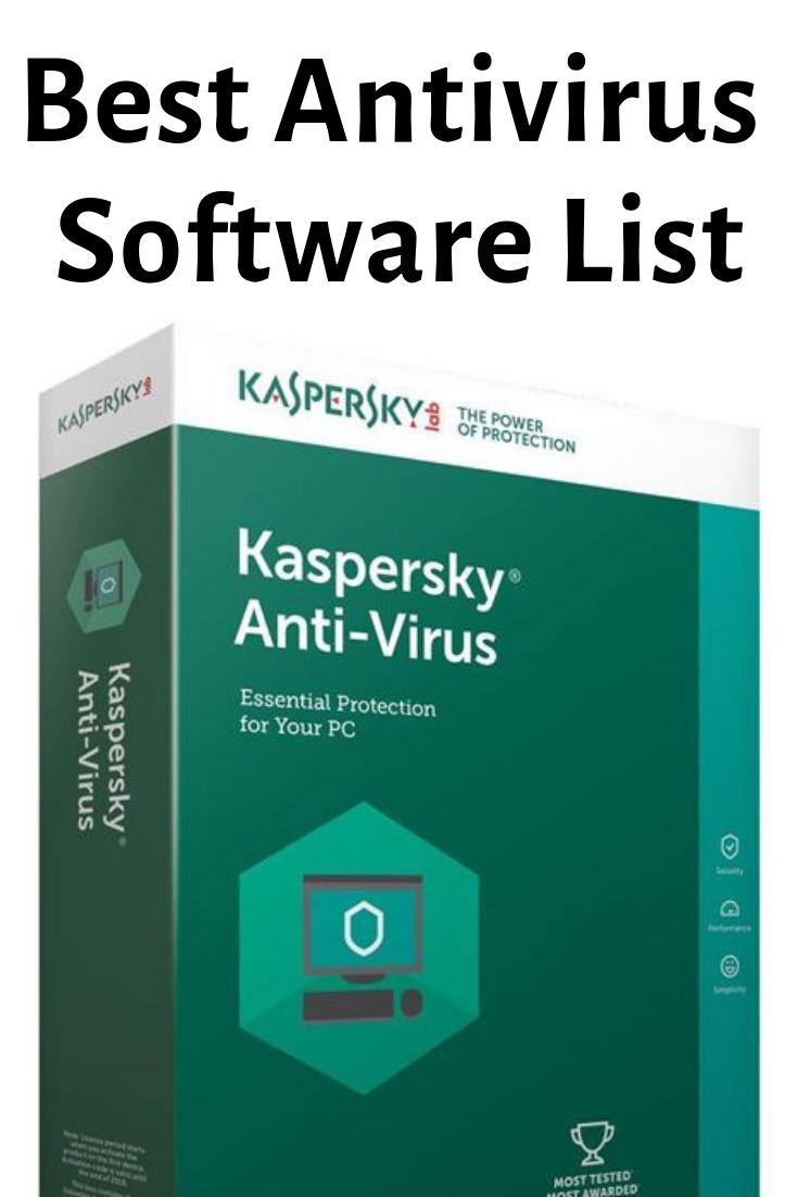 The Best Antivirus Software 2019 | SOFTWARES | Tech gadgets