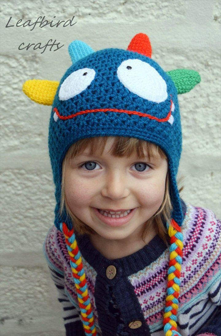 16 Easy Crochet Hats For Kid\'s | Blankets blankets by Mireya Garza ...