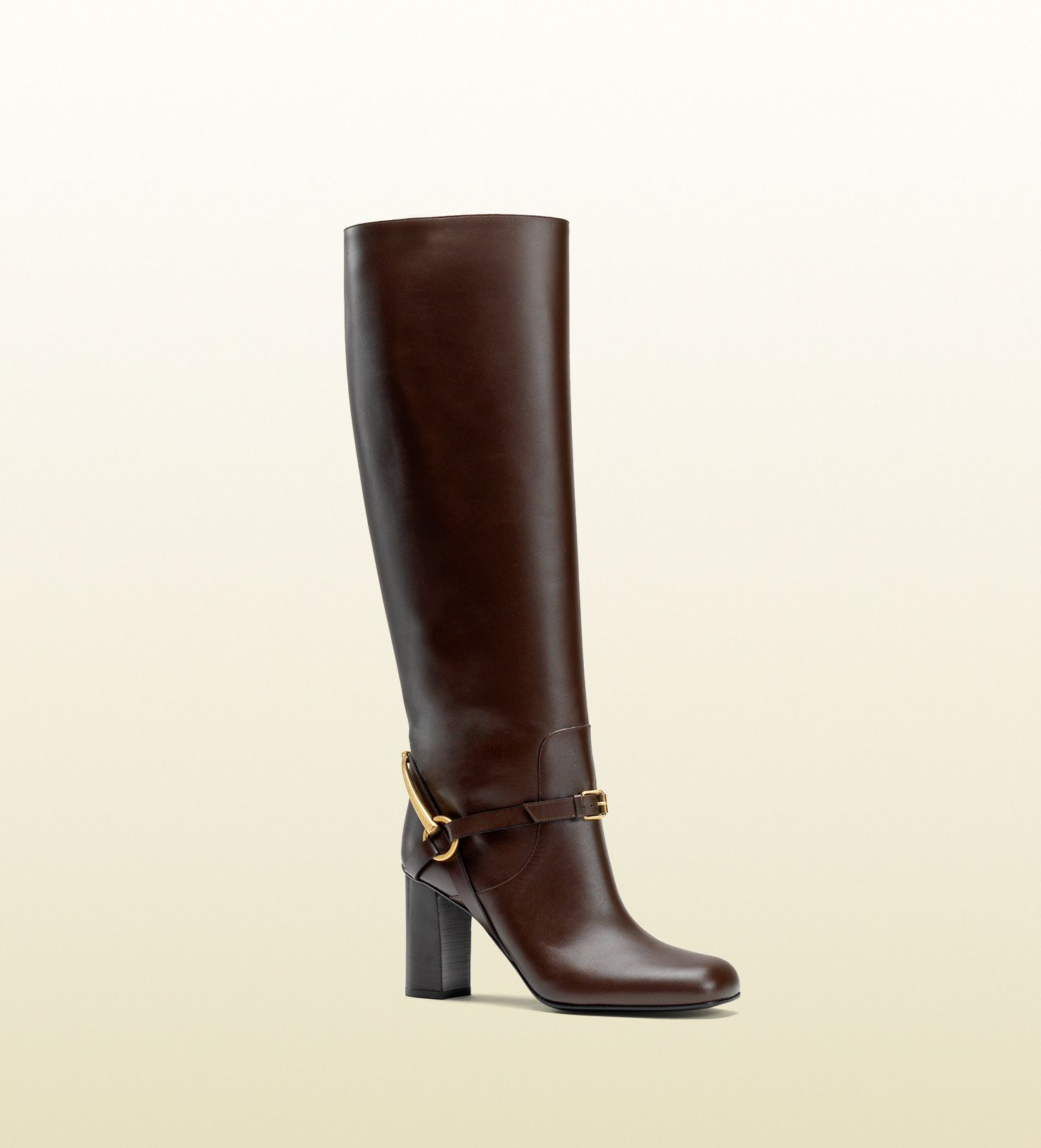 Ralph Lauren Collection Sahara Riding Boots in Black   Lyst