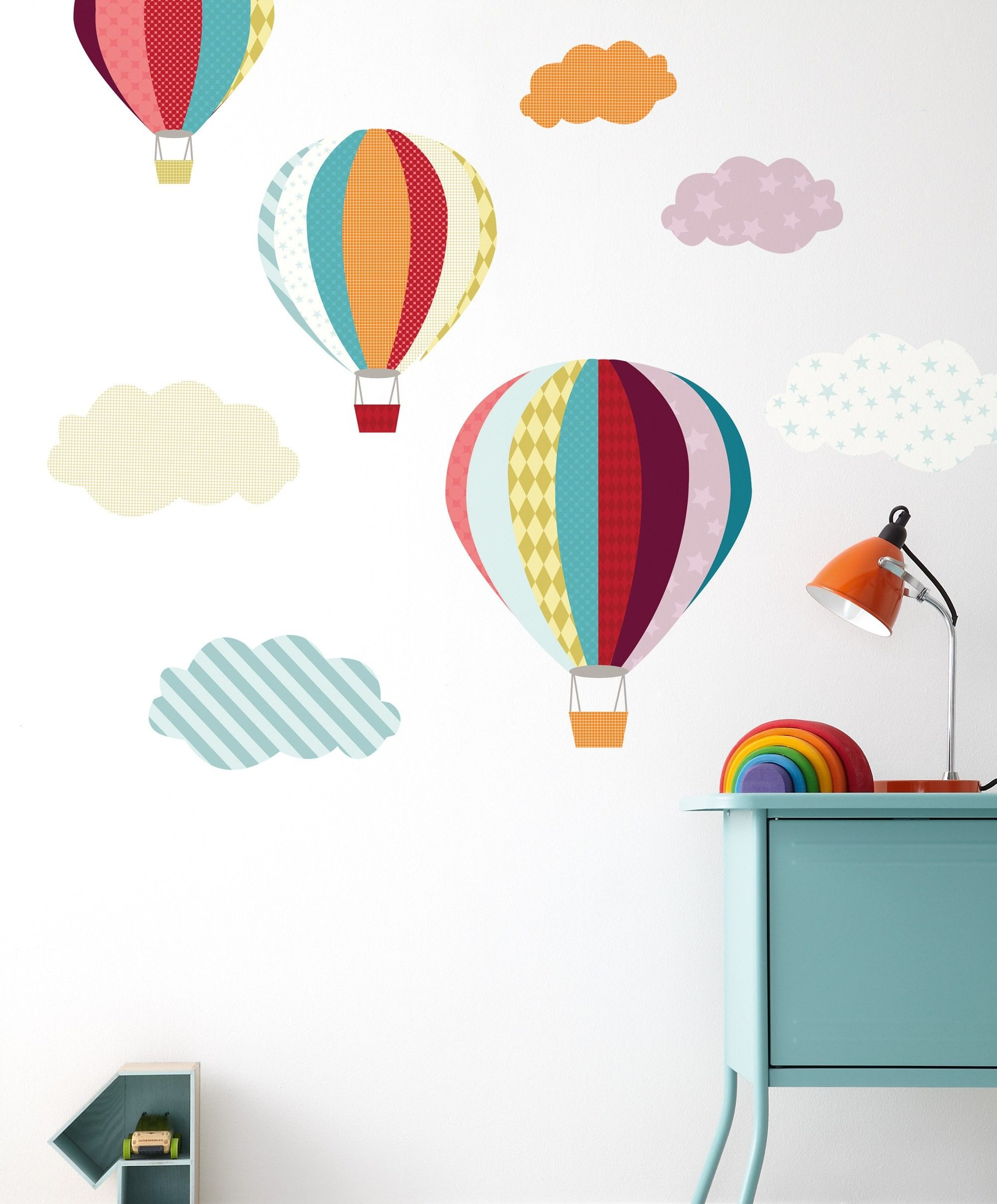 Mamas Papas Patternology Balloons Wall Stickers Baby Room