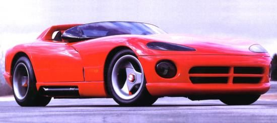 1989 Dodge Viper VM01, modern day Cobra! No top, big motor...