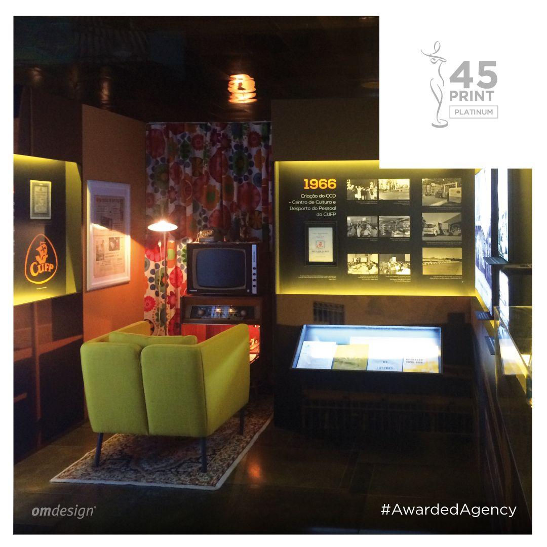 "Exposição ""125 Anos Unicer""  #Omdesign #Design #Portugal #LeçadaPalmeira #Since1998 #AwardedAgency #DesignAwards #Exhibition #Unicer #SuperBockGroup #Beer #Awards #Creativity #PlatinumAward #PlatinumWinner"