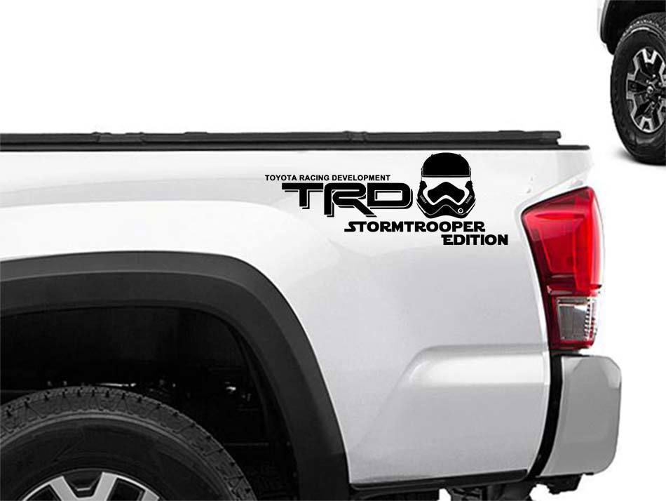 TRD PUNISHER EDITION Decals Toyota Tacoma Tundra Truck Vinyl Stickers Set