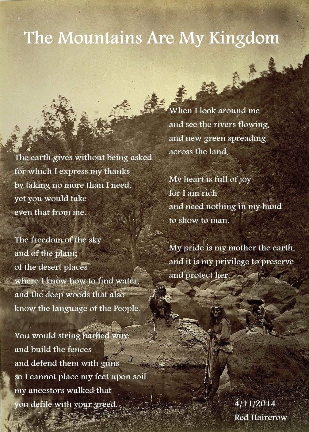 native indian quotes about nature - Google Search | Mountain ...