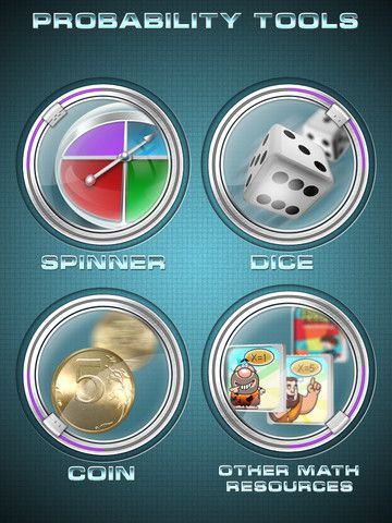 Probability Tools App - great way to experiment with probability