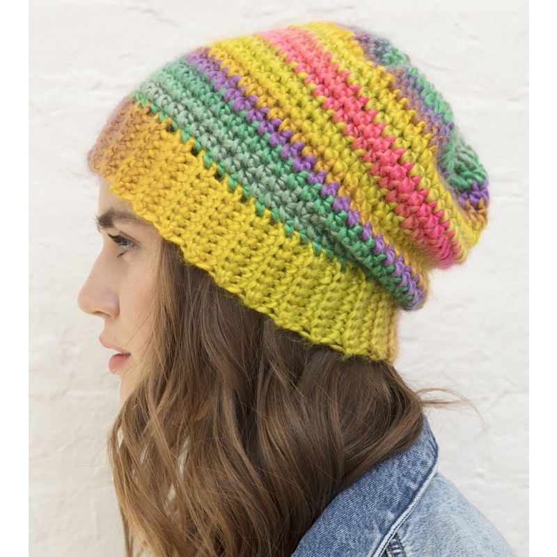 26d2c82f7bb Landscapes saratoga hat - DIY hat - make your own hat - crochet a hat - lion  brand yarn - free crochet pattern