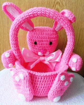 Free Crochet Easter Basket Patterns Free Crochet Lalaloopsy