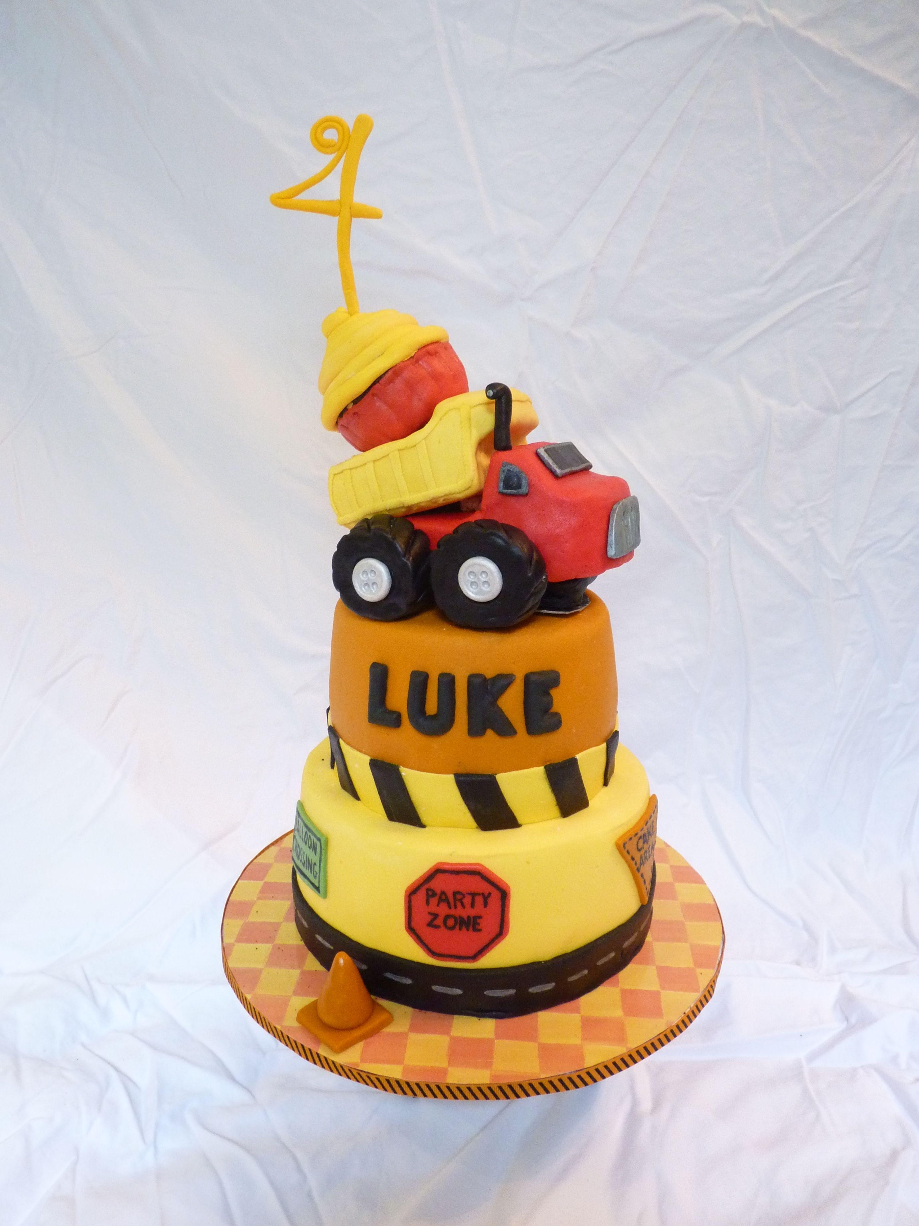 Tonka Themed Dump Truck Cake A Tonka themed dump truck cake made – Tonka Birthday Invitations